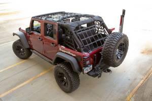 Jeep Tops & Doors - Jeep Tops - Rugged Ridge - Rugged Ridge Cargo Net, Black (2007-15) Jeep Wrangler JK 4 Door