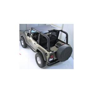 Jeep Tops & Doors - Jeep Tops - Rugged Ridge - Rugged Ridge Summer Brief Top, Gray (1992-95) Jeep Wrangler YJ