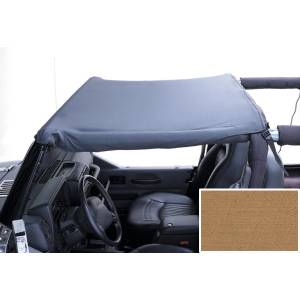 Jeep Tops & Doors - Jeep Tops - Rugged Ridge - Rugged Ridge Summer Brief Top, Spice (1992-95) Jeep Wrangler YJ