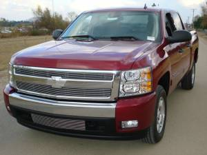 Exterior Accessories - Grilles - T-Rex Grilles - T-Rex Grille Overlay, Chevy (2007-13) 1500