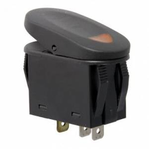 Electronic Accessories - Switches - Rugged Ridge - Rugged Ridge 2-Position Rocker Switch, Amber