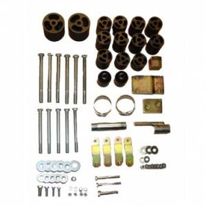 "Steering/Suspension Parts - 3"" Lift Kits - Rugged Ridge - Rugged Ridge 3 Inch Body Lift (1997-06) Jeep Wrangler TJ"