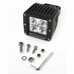 Lighting - Off-Road Lighting - Rugged Ridge - Rugged Ridge 3 Inch Square LED Driving Light, 16 Watt, 840 Lumens