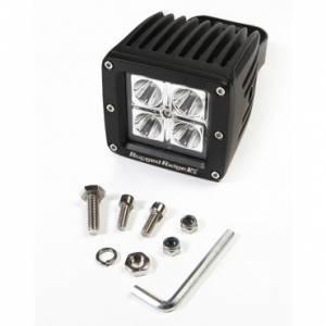Lighting - Off-Road Lighting - Rugged Ridge - Rugged Ridge 3 Inch Square LED Driving Light, 16 Watt, 840 Lumens