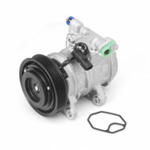 A/C System & Components - A/C Compressors - Omix-ADA - Omix-ADA A/C Compressor (1999-04) Jeep Grand Cherokee WJ, 4.7L