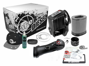 Air Intake & Cleaning Kits - Air Intakes - aFe - aFe Air Intake Diesel Elite Value Pack,Ford (2011-15) 6.7L Power Stroke, Momentum HD ProDry S