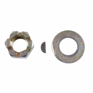 Axles & Axle Parts - Miscellaneous Axle Parts - Omix-ADA - Omix-ADA Axle Shaft Nut Washer and Key Kit (1976-86) Jeep CJ Models