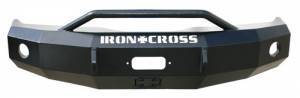 Brush Guards & Bumpers - Front Bumper Replacement Brush Guards - Iron Cross - Iron Cross Front Bumper, GMC (2007.5-13) 1500, with Cross Bar