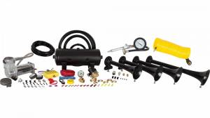 Air Horns - Complete Train Horn Kits - HornBlasters - Conductor's Special 238A, 2 Gallon, 200psi 380c, Train Horn Kit