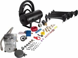 HornBlasters - Conductor's Special 232, 2 Gallon, 150psi 325c, Train Horn Kit - Image 2