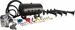 HornBlasters - Conductor's Special 540, 5 Gallon, 150psi 400c, Train Horn Kit - Image 2