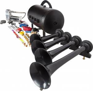 HornBlasters - Conductor's Special 540, 5 Gallon, 150psi 400c, Train Horn Kit - Image 4