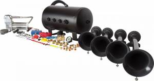 HornBlasters - Conductor's Special 540, 5 Gallon, 150psi 400c, Train Horn Kit - Image 5