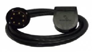 EZ Connector - EZ Connector Trailer Side Plug w/8' cable, Storage & Connection Kit, S7-10