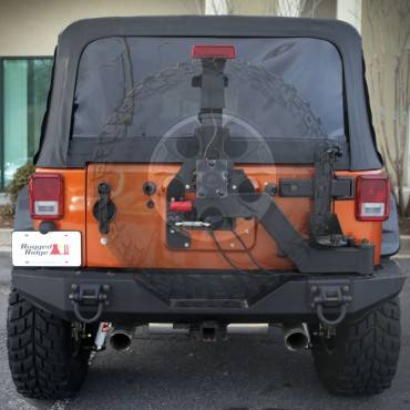 Exterior Accessories - Brush Guards & Bumpers - Tire Carriers