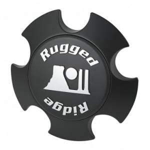 Rugged Ridge XHD Center Cap, Matte Black