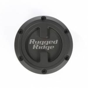 Wheels & Tires - Wheel Accessories - Rugged Ridge - Rugged Ridge XHD Center Cap, Black, 17x9