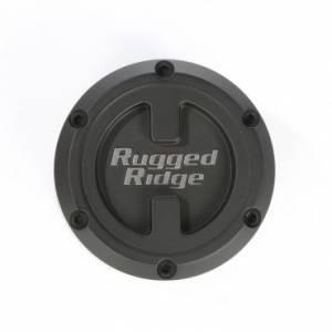 Wheels & Tires - Wheel Accessories - Rugged Ridge - Rugged Ridge XHD Center Cap, Black, 17x9