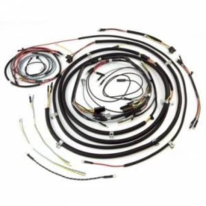 Engine Parts - Engine Wiring - Omix-ADA - Omix-ADA Wiring Harness with Cloth Cover (1957-65) Jeep CJ5
