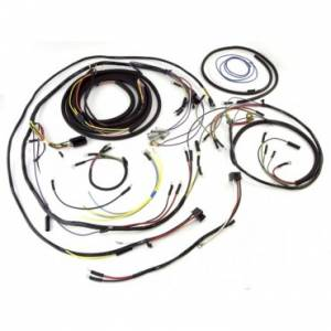Engine Parts - Engine Wiring - Omix-ADA - Omix-ADA Wiring Harness with Cloth Cover (1955-56) Jeep CJ Models