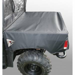 Bed/Tonneau Covers - Vinyl Roll-Up Tonneau Covers - Rugged Ridge - Rugged Ridge Bed Cover; Yamaha Rhino UTV