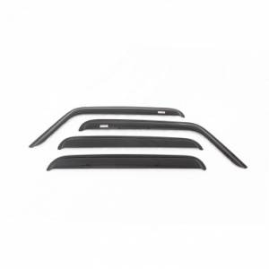 Exterior Accessories - Window Visors/Rain Guards - Rugged Ridge - Rugged Ridge Window Rain Deflectors (1984-01) Jeep Cherokee XJ