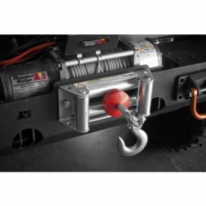 Winches - Winch Accessories & Parts - Rugged Ridge - Rugged Ridge Winch Cable Stopper, Red; Universal