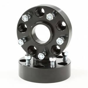 Wheels & Tires - Wheel Adapters - Rugged Ridge - Rugged Ridge Wheel Adapters, 1.25 Inch, 5x4.5 to 5x5