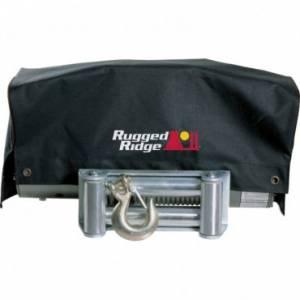 Winches - Winch Accessories & Parts - Rugged Ridge - Rugged Ridge UTV Winch Cover; ATV/UTV