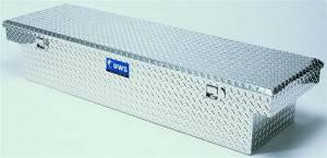"UWS Tool Boxes - UWS Truck Tool Box, 69""L x 19.25""W x 13.5""H Aluminum Diamond Plate, Single Lid - Image 2"