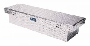 "UWS Tool Boxes - UWS Truck Tool Box, 69""L x 19.25""W x 13.5""H Aluminum Diamond Plate, Single Lid"