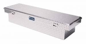 """Tools - Tool Boxes - UWS Tool Boxes - UWS Truck Tool Box, 69""""L x 19.25""""W x 13.5""""H Aluminum Diamond Plate, Single Lid"""