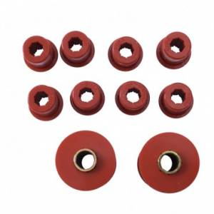 Steering/Suspension Parts - Miscellaneous - Rugged Ridge - Rugged Ridge Bushing Set, Front Spring (1976-86) Jeep CJ