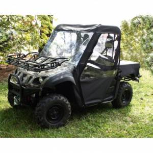 UTV/ATV Accessories - Rugged Ridge - Rugged Ridge Cab Enclosure, Black; Yamaha Rhino UTV