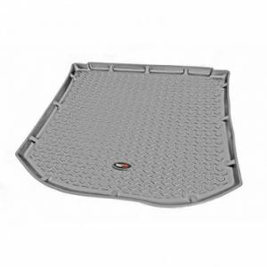 Interior Accessories - Floor Liners/Mats - Rugged Ridge - Rugged Ridge Cargo Liner, Gray (2007-10) Jeep Wrangler/Unlimited JK