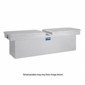 """Tools - Tool Boxes - UWS Tool Boxes - UWS Truck Tool Box, 72""""L x 19.25""""W x 19.5""""H Aluminum Diamond Plate, Gull Wing Lid, Deep"""