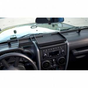 Interior Accessories - Switches and Accessories  - Rugged Ridge - Rugged Ridge Dash Organizer Tray (2007-10) Jeep Wrangler JK