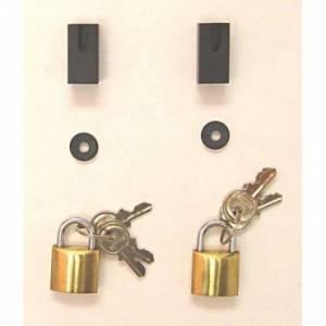 Jeep Doors - Door Accessories - Rugged Ridge - Rugged Ridge Door Guards (1976-95) Jeep CJ/Wrangler YJ