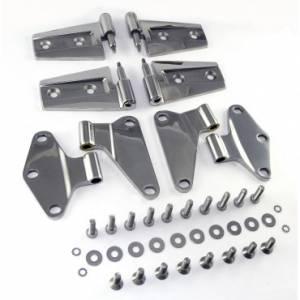 Jeep Doors - Door Accessories - Rugged Ridge - Rugged Ridge Door Hinge Kit, Stainless Steel (2007-15) Jeep Wrangler JK