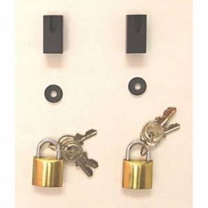 Jeep Doors - Door Accessories - Rugged Ridge - Rugged Ridge Door Hinge Lock Kit (1997-06) Jeep Wrangler TJ