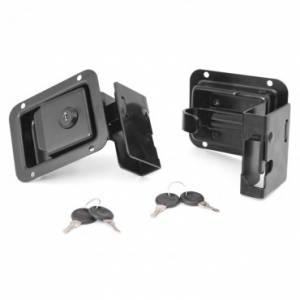 Jeep Doors - Door Accessories - Rugged Ridge - Rugged Ridge Door Latch Set (2007-15) Jeep Wrangler JK