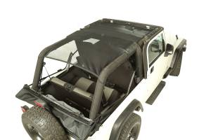 Jeep Tops & Doors - Jeep Tops - Rugged Ridge - Rugged Ridge Eclipse Sun Shade, Full Cover (2004-06) Jeep Wrangler Unlimited LJ