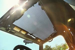 Jeep Tops & Doors - Jeep Tops - Rugged Ridge - Rugged Ridge Eclipse Sun Shade, Full Cover (1997-06) Jeep Wrangler TJ