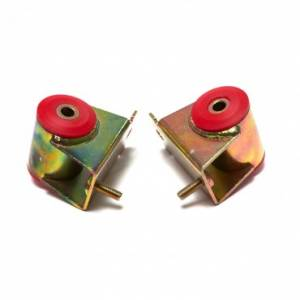 Engine Parts - Engine Bolts/Studs - Rugged Ridge - Rugged Ridge Engine Mounts Red Polyurethane, Pair (1987-01) Wrangler/Cherokee, 4.0L