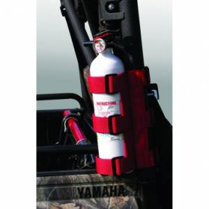 UTV/ATV - Rugged Ridge - Rugged Ridge Fire Extinguisher Holder, Red; UTV