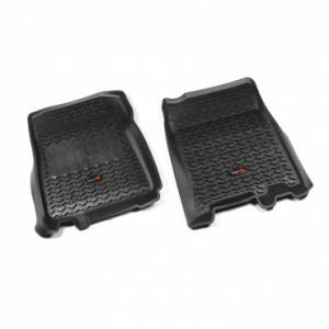 Interior Accessories - Floor Liners/Mats - Rugged Ridge - Rugged Ridge Floor Liners, Front, Black (1997-03) F-150 Ext/Reg Cab