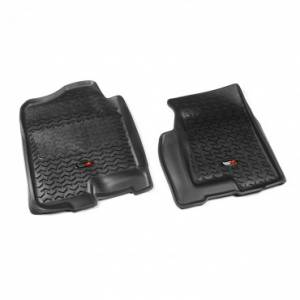 Interior Accessories - Floor Liners/Mats - Rugged Ridge - Rugged Ridge Floor Liners, Front, Black (1999-06) GM Fullsize Pickup/SUV