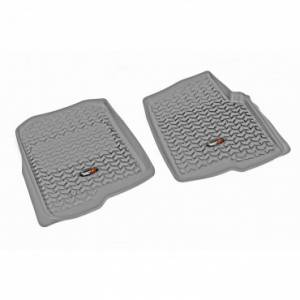 Rugged Ridge - Rugged Ridge Floor Liners, Front, Gray (2004-08) Ford F-150 (2006-08) Lincoln Mark LT