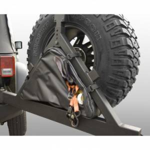 Tools - Misc Tools - Rugged Ridge - Rugged Ridge Triangular Storage Bag for Rugged Ridge Tire Carriers
