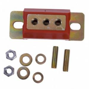 Transmission - Misc. Transmission Parts - Rugged Ridge - Rugged Ridge Transmission Mount, Red (1963-95) Jeep CJ/Grand Wagoneer/Wrangler SJ/YJ